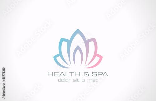 Logo lotus flower abstract vector design health spa medicine logo lotus flower abstract vector design health spa medicine mightylinksfo