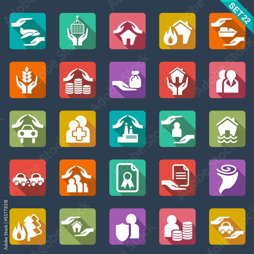 Fotografia  Insurance  icons