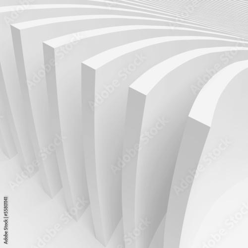 Plakat Abstrakcyjny projekt architektury