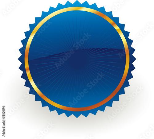 Fotografía  blue badge