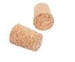 wine corks isolated on white (jars, vials)