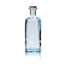 Empty Glass Bottle With Cork S...