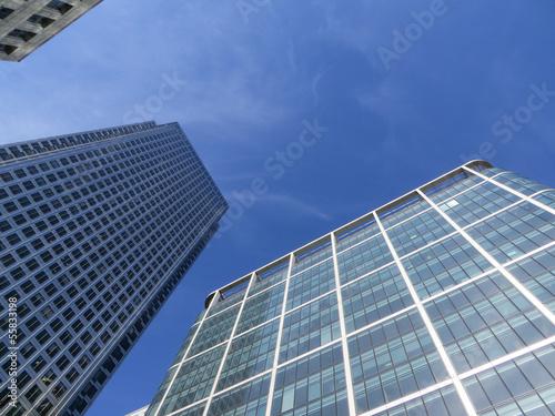Fototapeta Canary Wharf Buildings obraz na płótnie