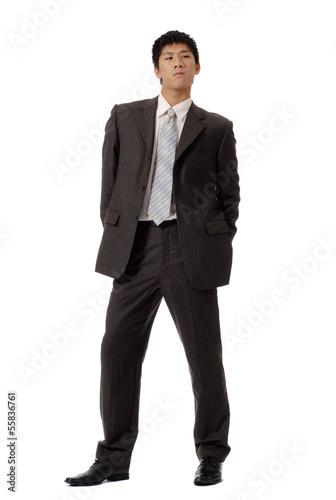 Fotografie, Obraz  Business man of coldness