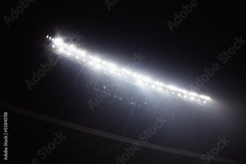 Fotografie, Obraz  Stadium reflektory v noci, Peking, Čína