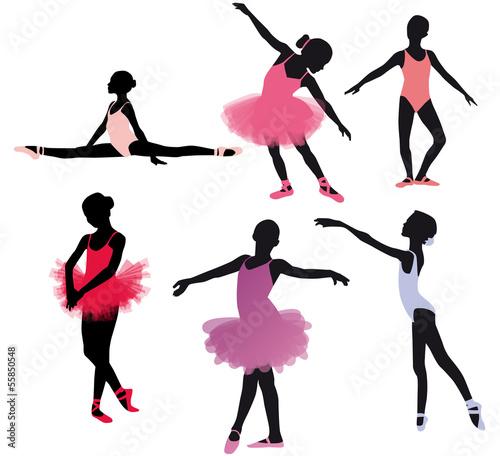Petites danseuses classiques Canvas Print