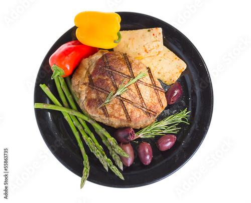 Photo Atkins mediterranean diet.