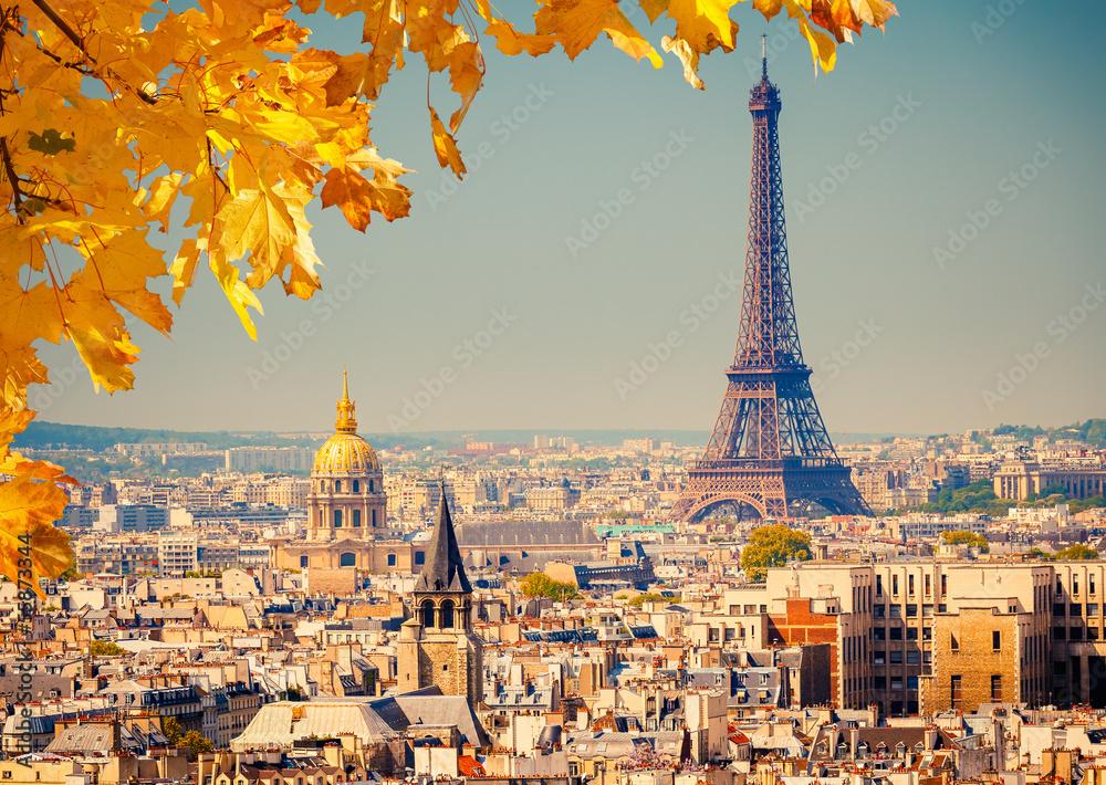 Fototapety, obrazy: Eiffel Tower