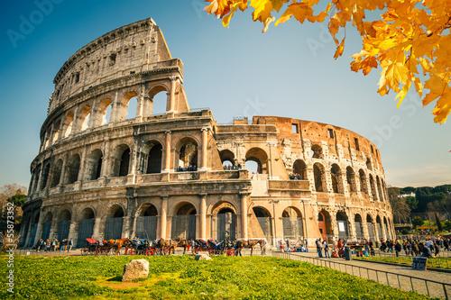 Canvastavla Colosseum in Rome