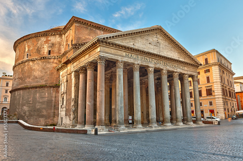 Pantheon in Rome, Italy Canvas Print