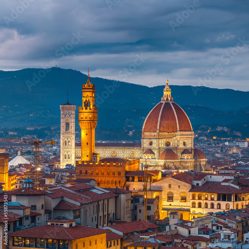 Spoed Foto op Canvas Florence Duomo cathedral in Florence
