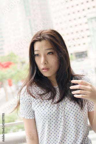 Fotomural  Asian beauty
