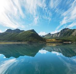 Fototapeta norweski krajobraz