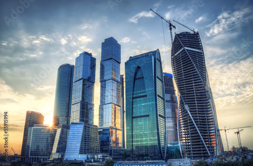 Moscow city hdr process