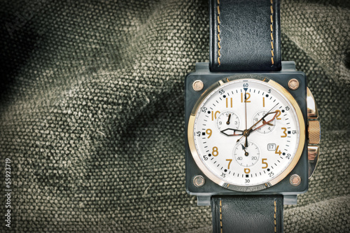 military watch Canvas Print