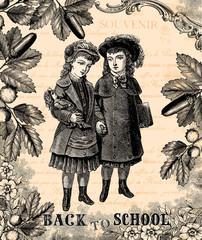 Fototapeta samoprzylepna Back to school