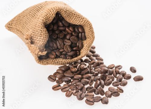 Fotobehang Koffiebonen Caffè