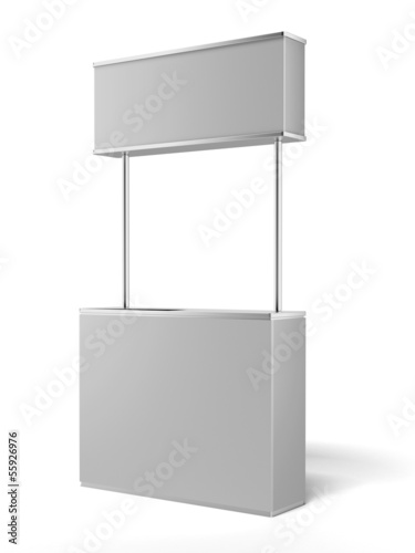 White promotion counter