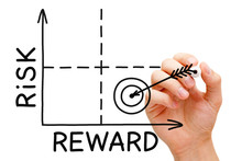 Risk Reward Matrix Graph Target Concept