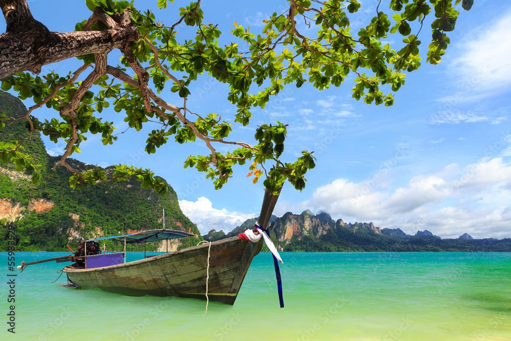 Fototapeta Tropical beach, Krabi, Thailand