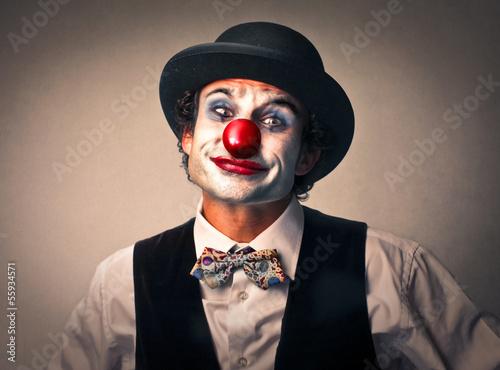Tableau sur Toile clown