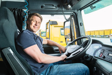 Forwarder Or Truck Driver In D...