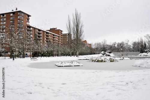 Parque de Arriaga, Vitoria (España)