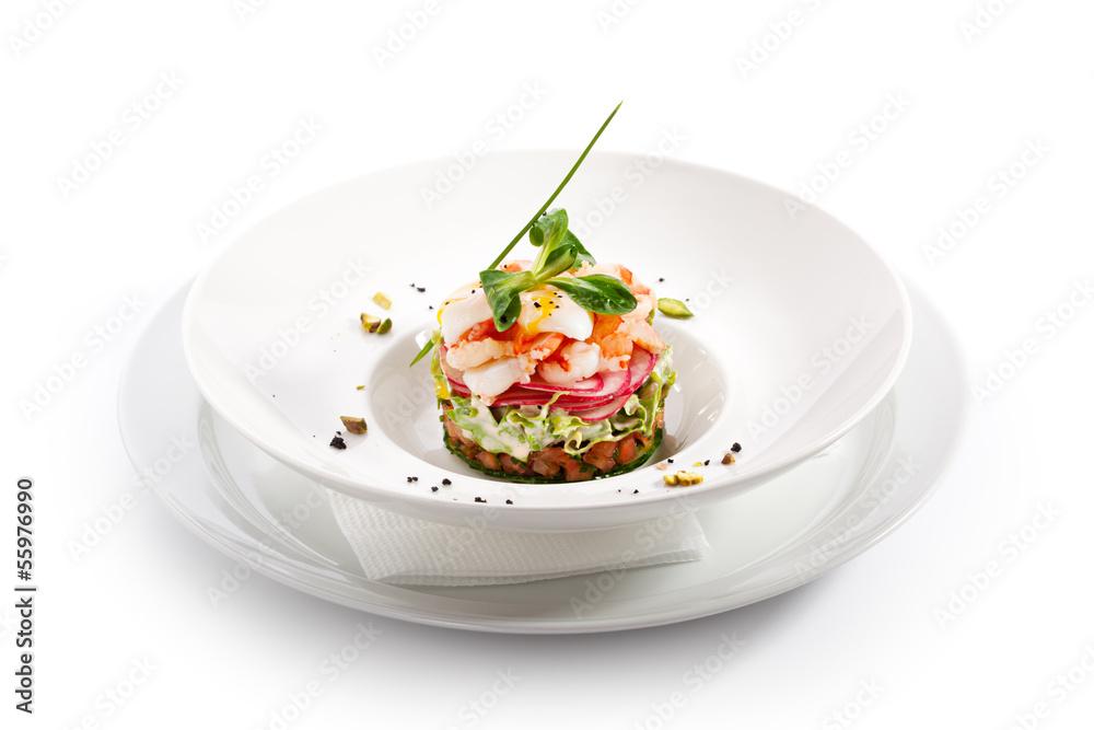 Fototapety, obrazy: Seafood Salad