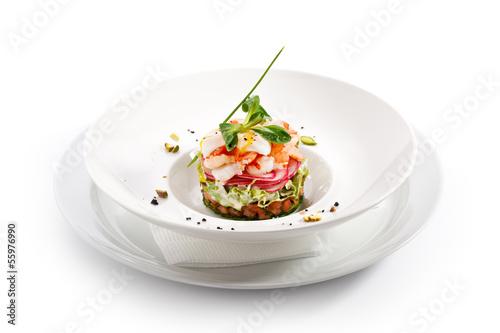 Photo  Seafood Salad