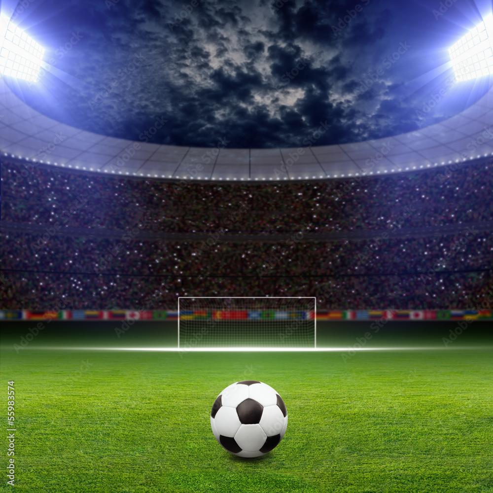 Fototapeta Soccer stadium