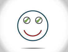 Smiley Smiling Face Done All T...