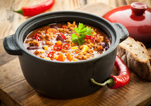 Tasty Spicy Chili Con Carne Ca...