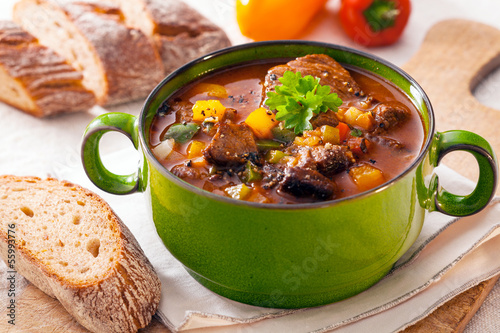 Delicious goulash casserole
