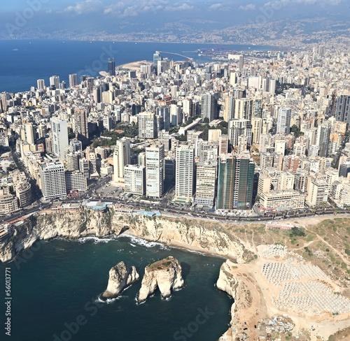 Fotobehang Midden Oosten Beirut, Lebanon