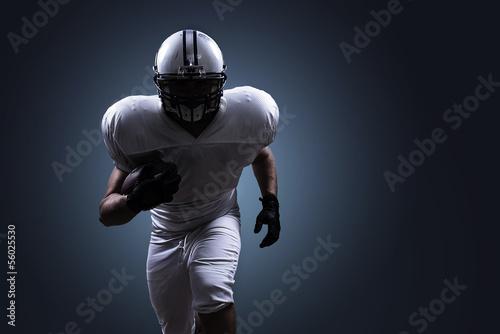 American Football Running