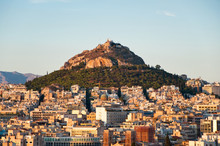 View Of Athens And Mount Lycab...