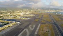 Aerial View Honolulu International Airport, Hawaii