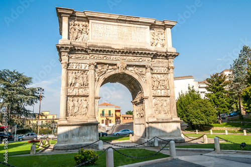 The Arch of Trajan in Benevento Wallpaper Mural