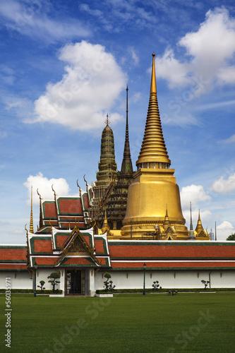 The Grand Palace & Wat Phra Kaew, Bangkok, landmark of Thailand Poster