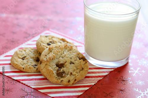Tuinposter Koekjes Chocolate Chip Cookies