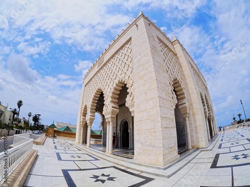 The Mausoleum of Mohammed V in Rabat