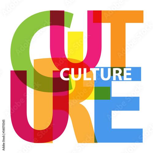 Fotografia  Vector Culture. Broken text