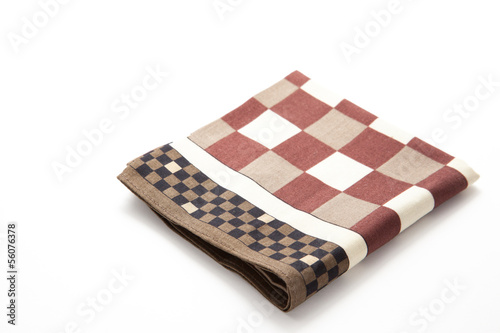 checkered handkerchief Wallpaper Mural