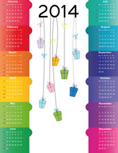 Calendar On 2014 Year