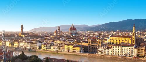 Fotografie, Obraz  Florence, panorama