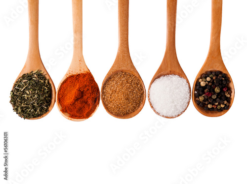 Canvas Prints Spices Spices isolated