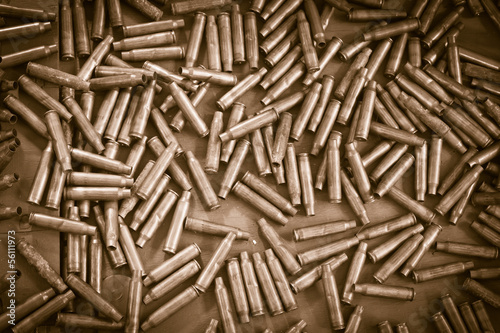 Fotografie, Obraz  bullets background