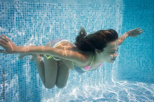 Fotografie, Obraz  comme un poisson dans l eau