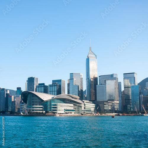 Photo  Hong Kong Skyline