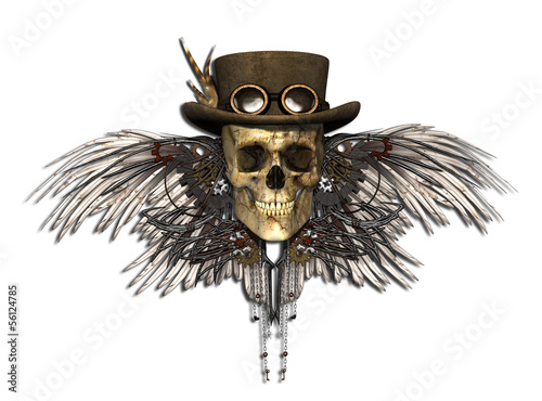 Photo  Steampunk Skull